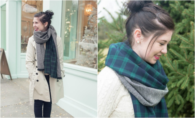how to sew a beautiful scarf