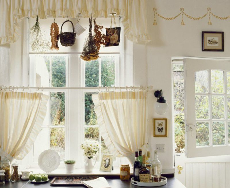 Cafe curtain ideas