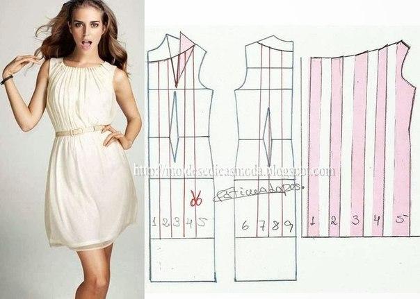 Как сделать красивое платье своими руками для себя