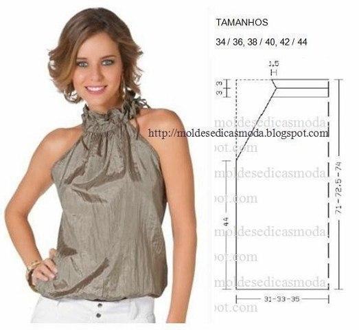 9fd1332db04 Шьем красивые блузки  16 выкроек на любой вкус