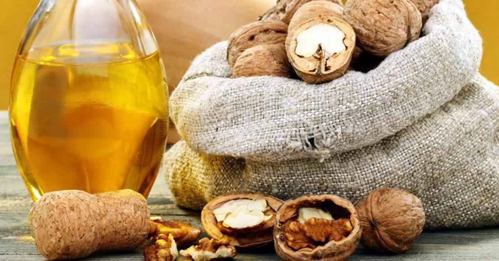Растительное масло грецкого ореха