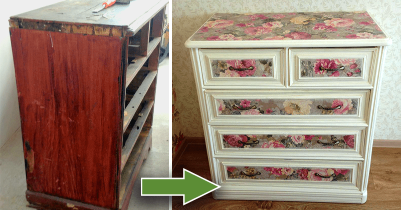 Старая мебель вторая жизнь своими руками 46