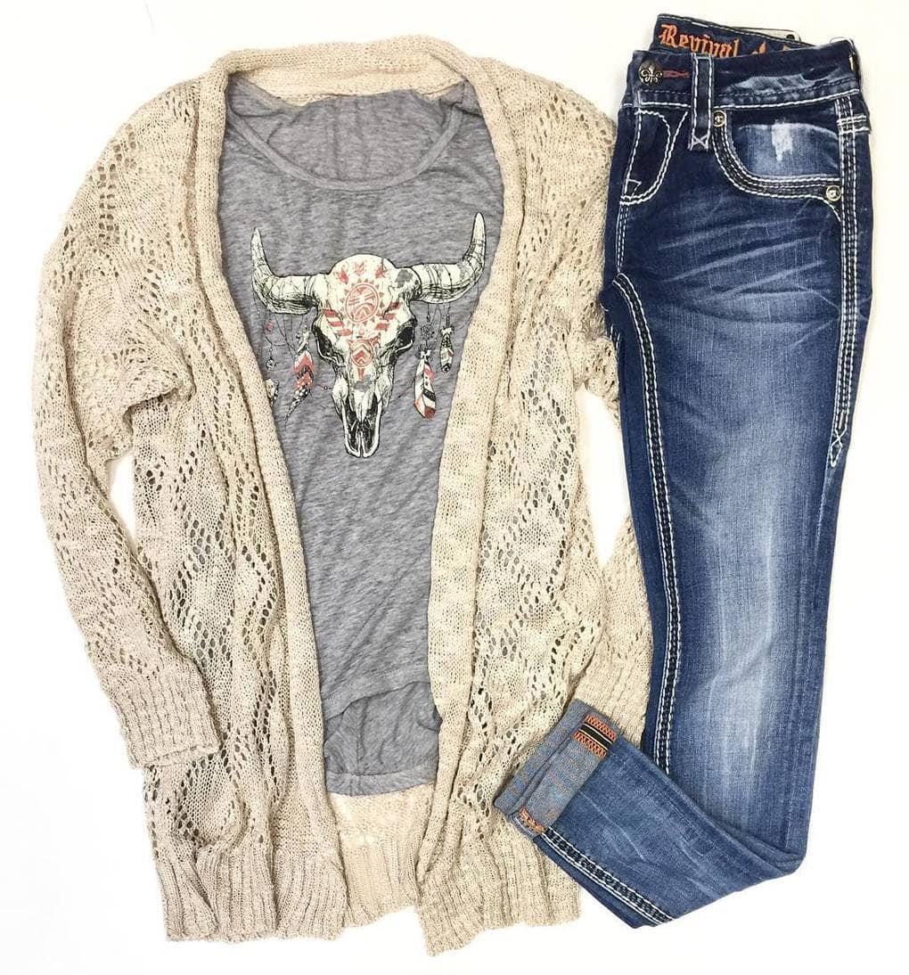 Бохо джинсы