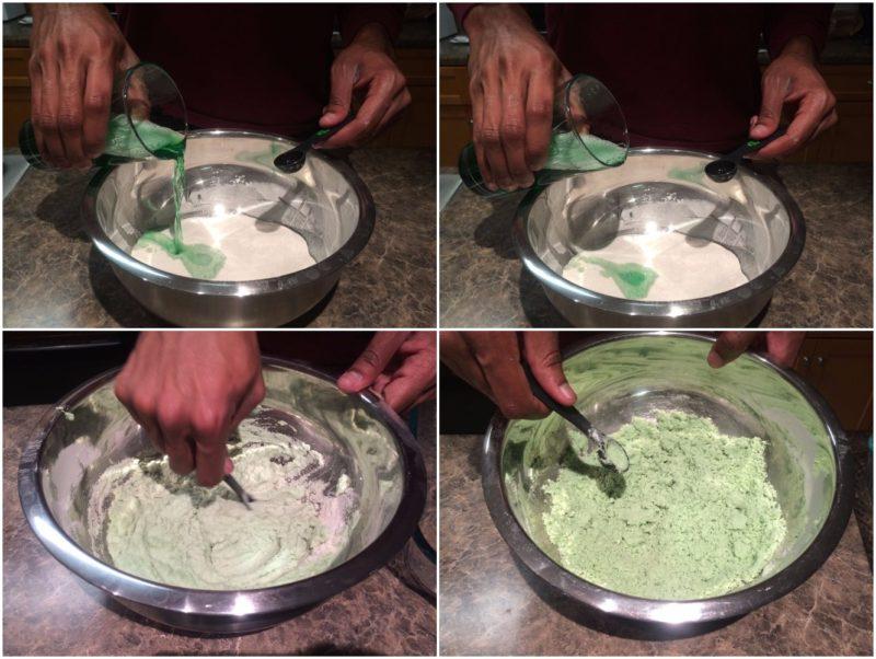 как сделать кинетический песок