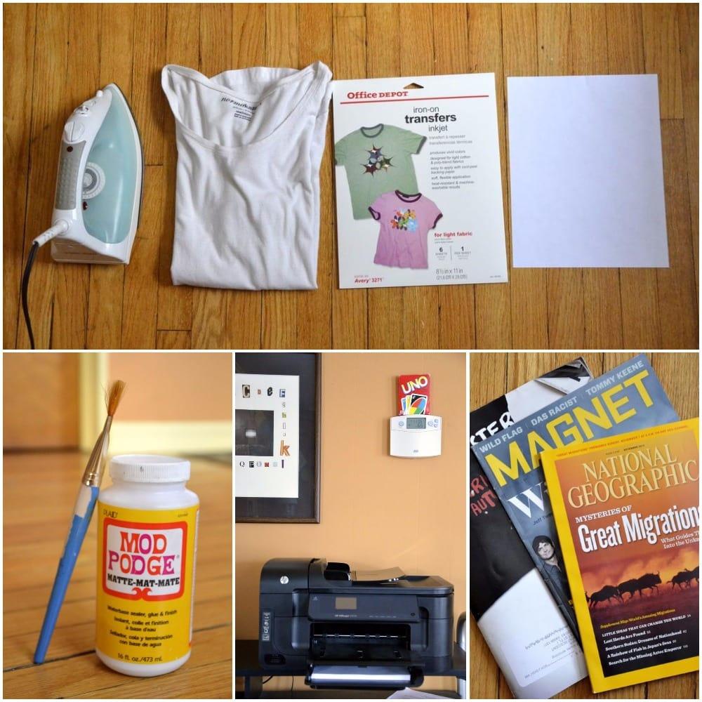 Трансферная бумага для ткани своими руками 21