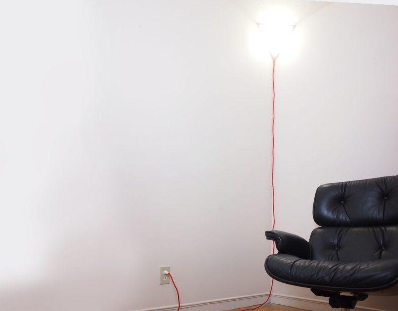 Угловой светильник