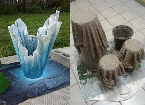 Поделки из цементного раствора своими руками купить краску тексипол для бетона