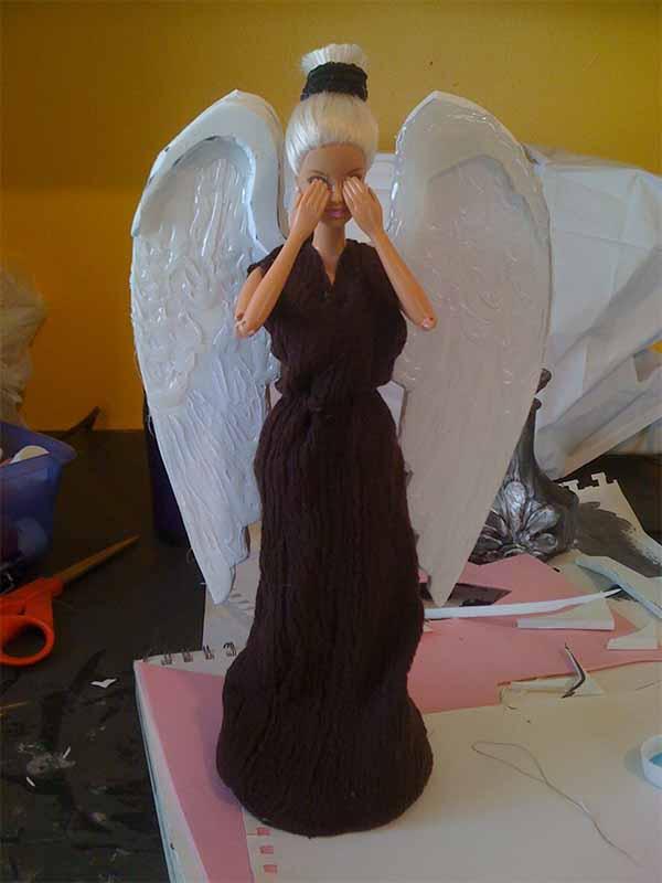 Гипс своими руками для ангела