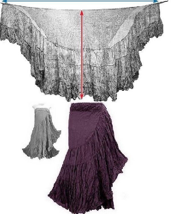 Как сшить простую юбку мастер-класс - Ручная работа 80