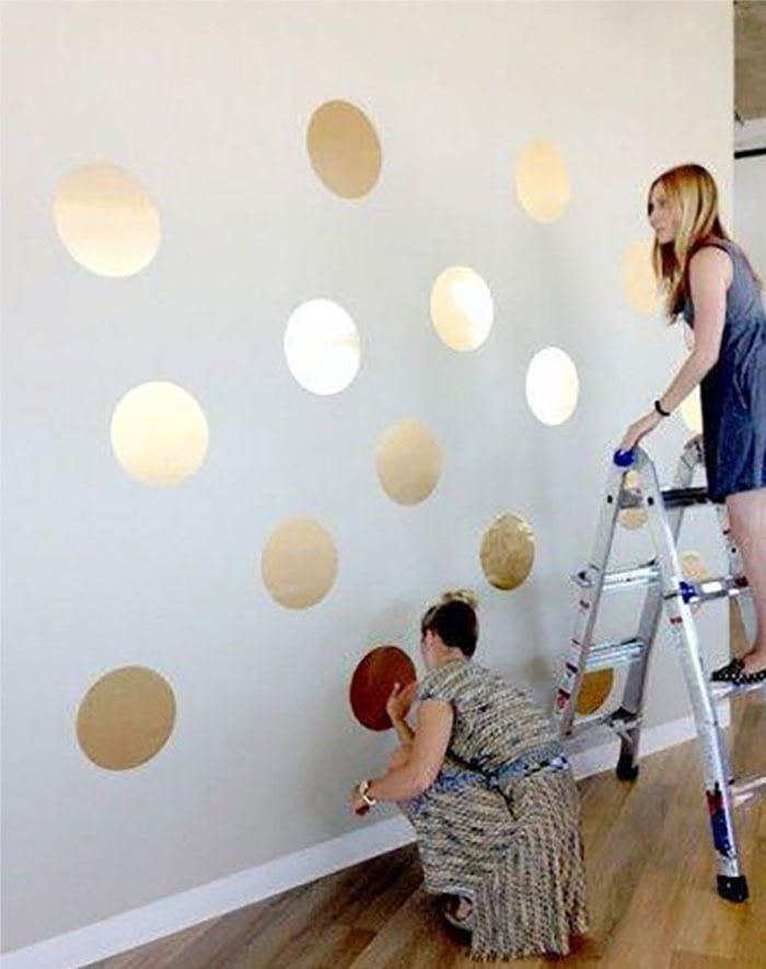Красивые рисунки для стены своими руками