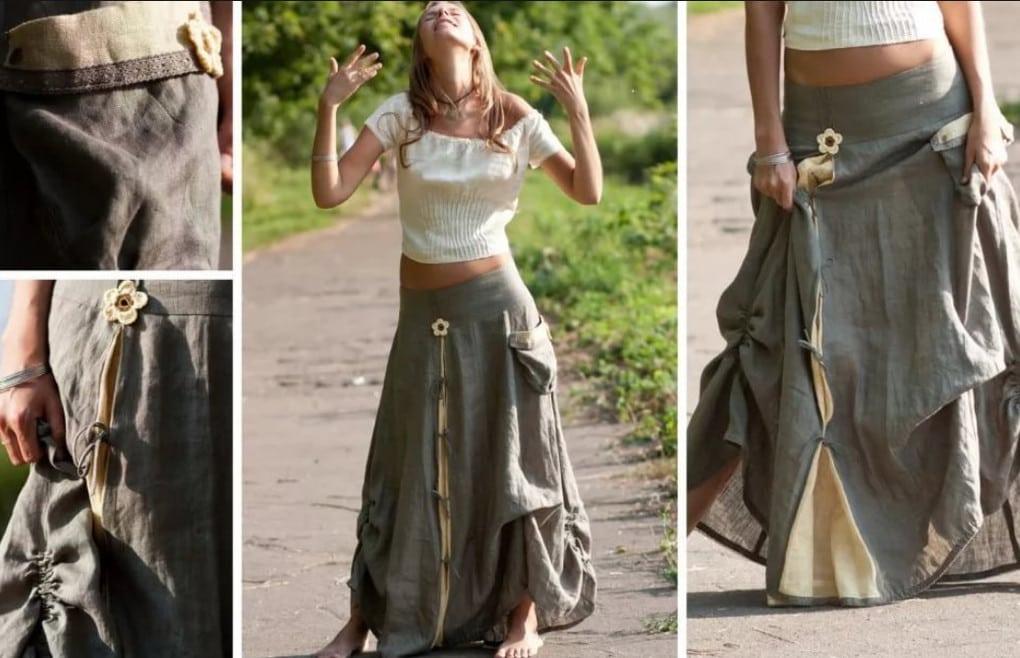 Бохо стиль своими руками для полных: выкройки юбки, платьев, сарафанов