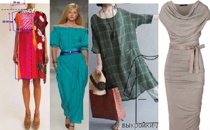 Модели платьев с выкройками и схемами бесплатно фото 140