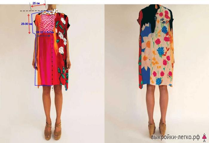 Модели сшитых своими руками платьев