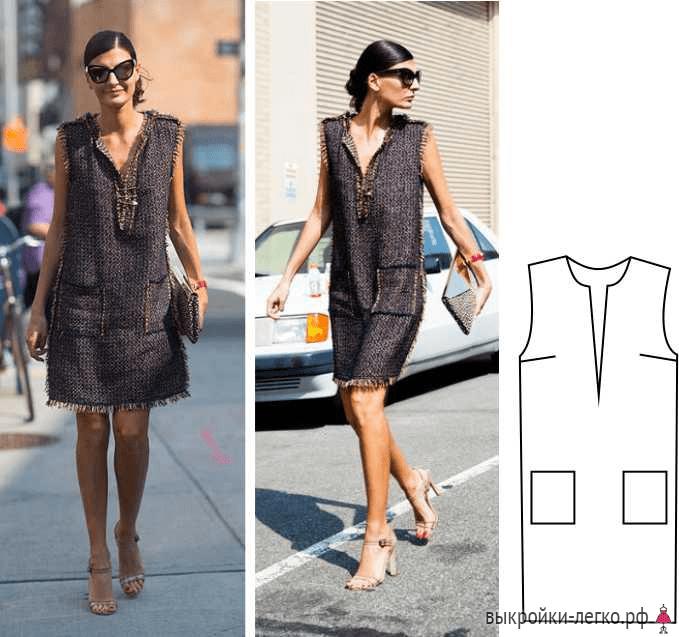 296f05ce9b35db8 Для примера возьмем такаю модель платья, как на неподражаемой итальянке и  законодательнице Street Style Джованне Батталья. Оно и правда очень  стильное.