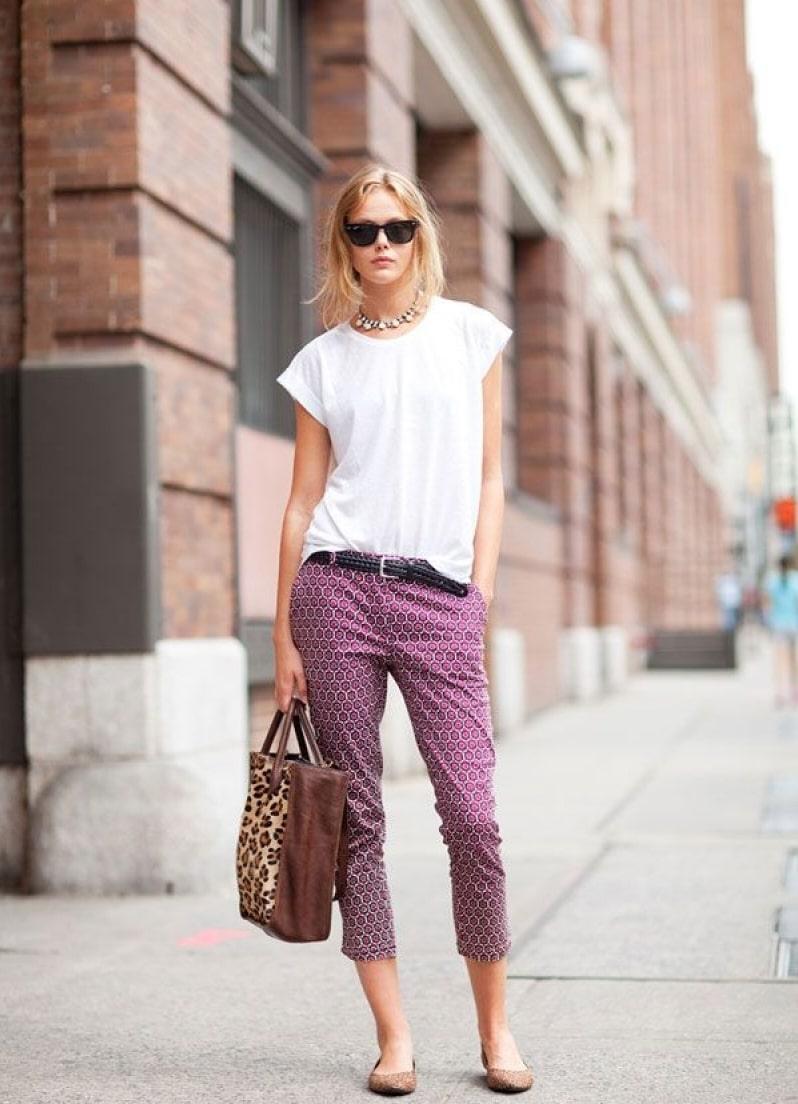 Как модно носить брюки