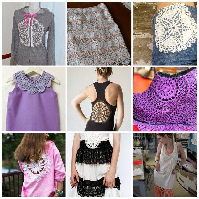 Вязание элементов одежды