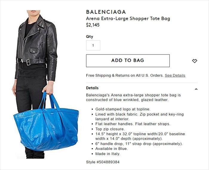 сумка Balenciaga за 2000