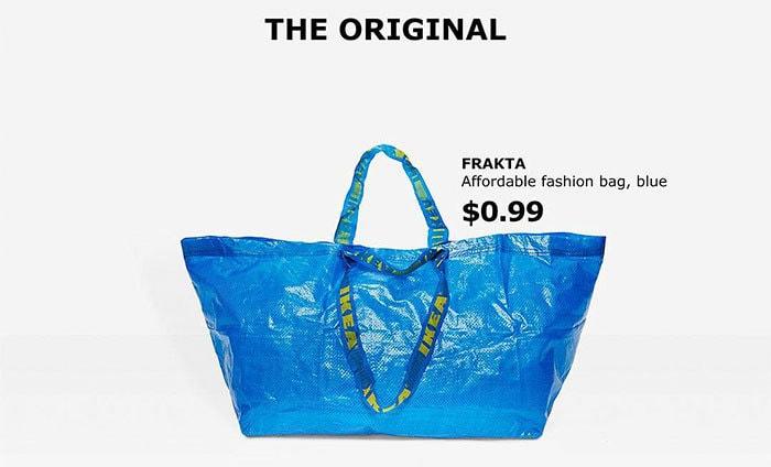 настоящая IKEA сумка