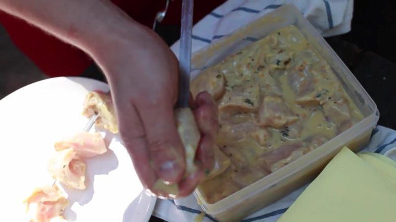 медово-горчичный маринад для куриного шашлыка