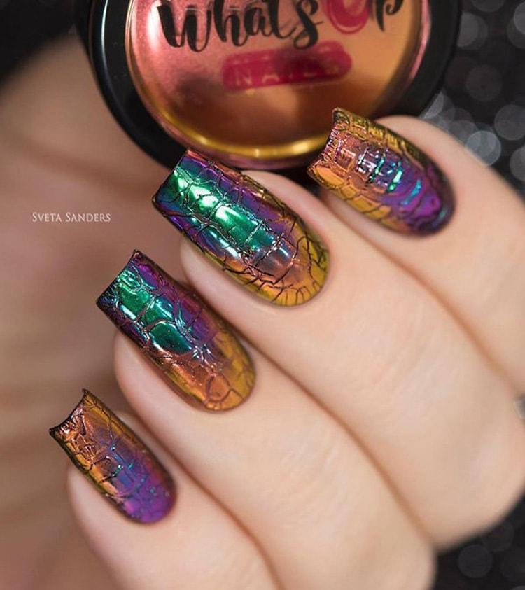 Света сандерс дизайн ногтей