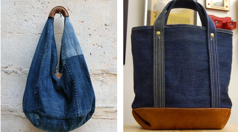 Идеи из старых джинсов своими руками сумки 72