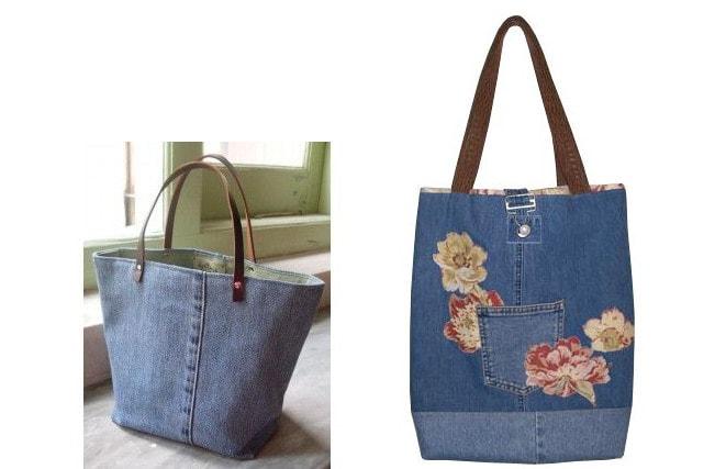 Как сшить сумку из старых джинсов своими руками пошаговая инструкция фото 29