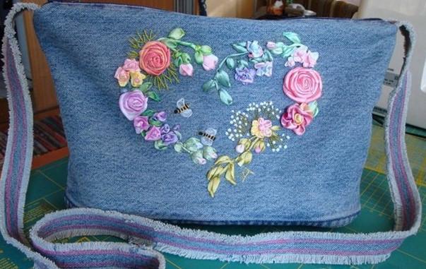 Ткань для сумок на которых можно вышивать