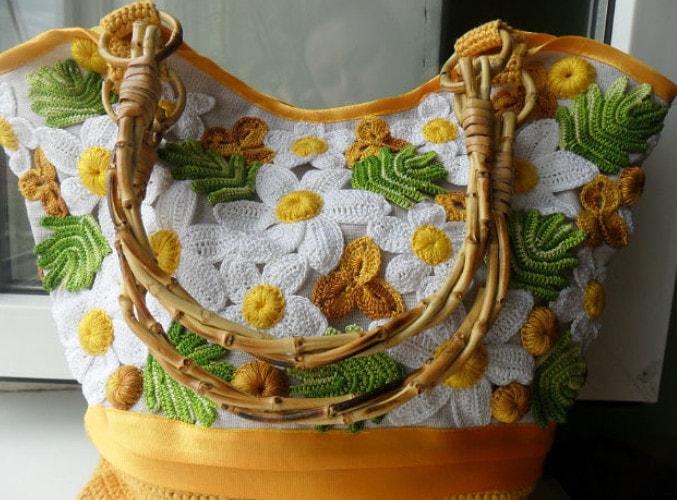Рукоделие вязаные сумки своими руками 26