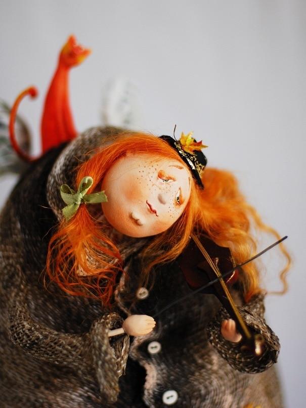 Своими руками куклы авторские куклы 77