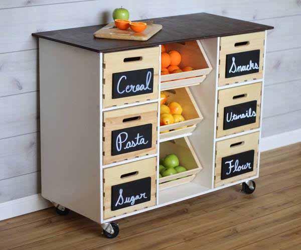 Как сделать деревянный ящик своими руками для овощей и фруктов