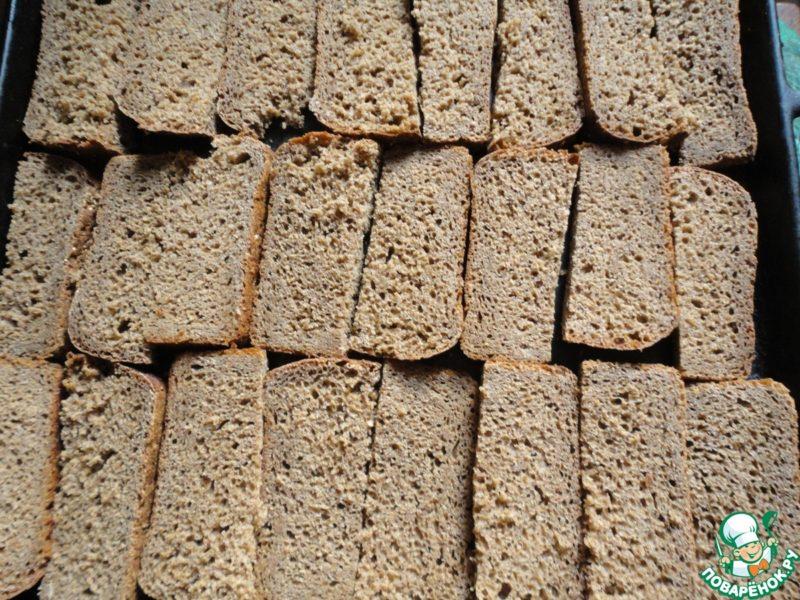 хлеб засушенный в духовке