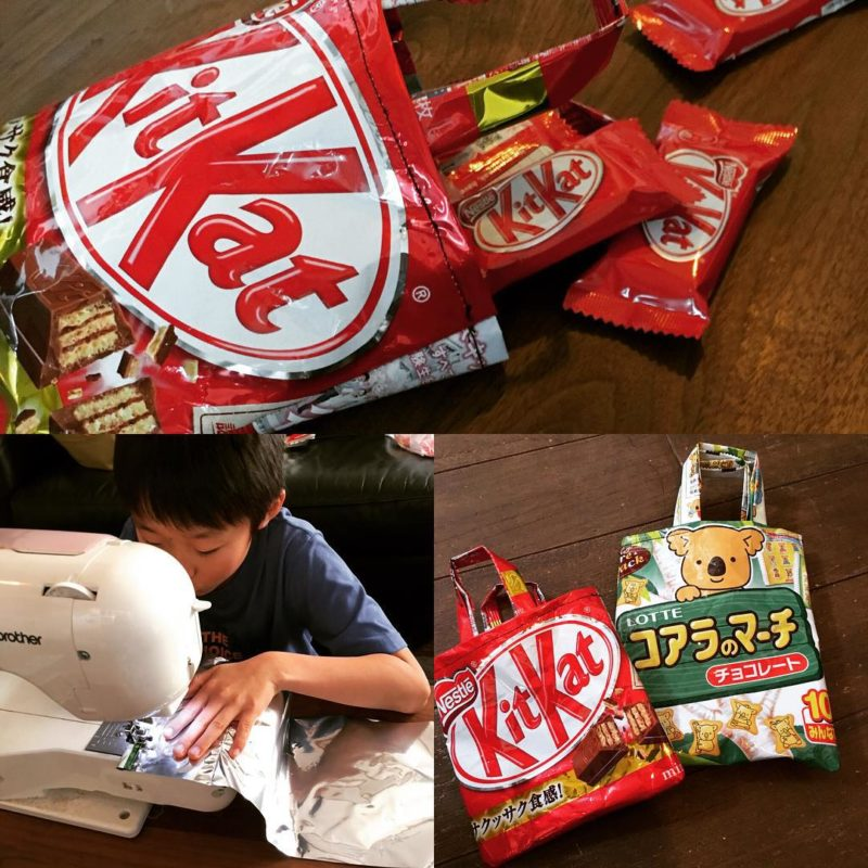 сумочки из упаковки