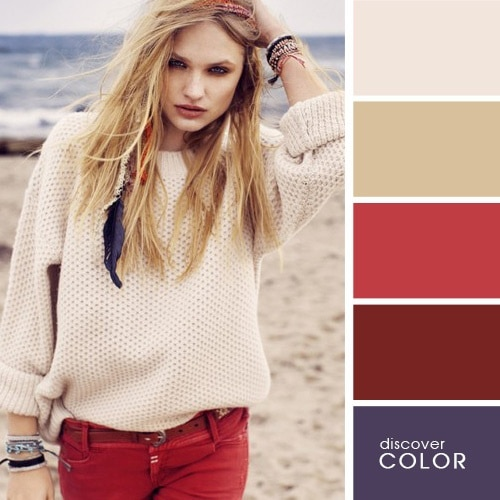 16 примеров идеального сочетания цветов в одежде
