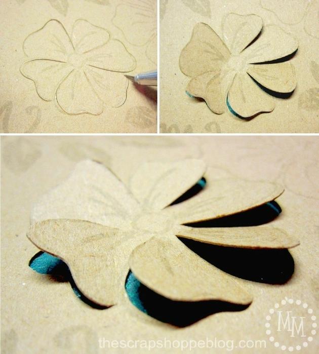 Как из бумаги сделать панно