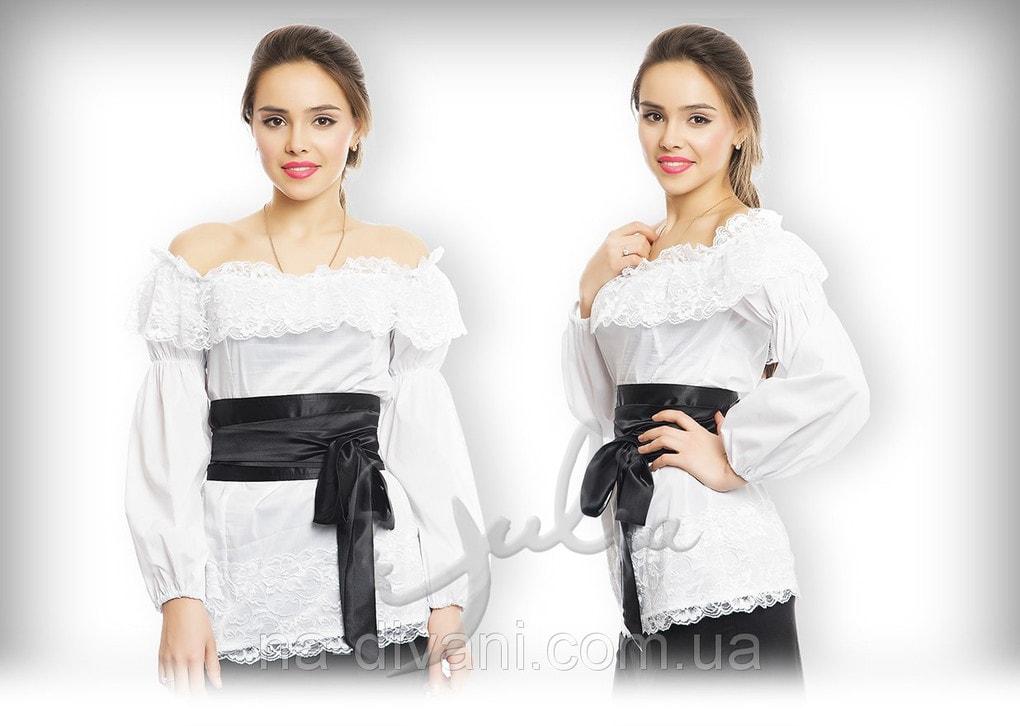 Блузка Крестьянка Купить