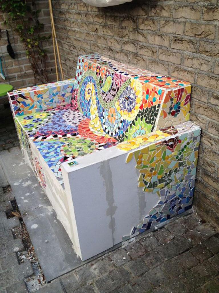 Мозаика своими руками из остатков плитки своими руками 32