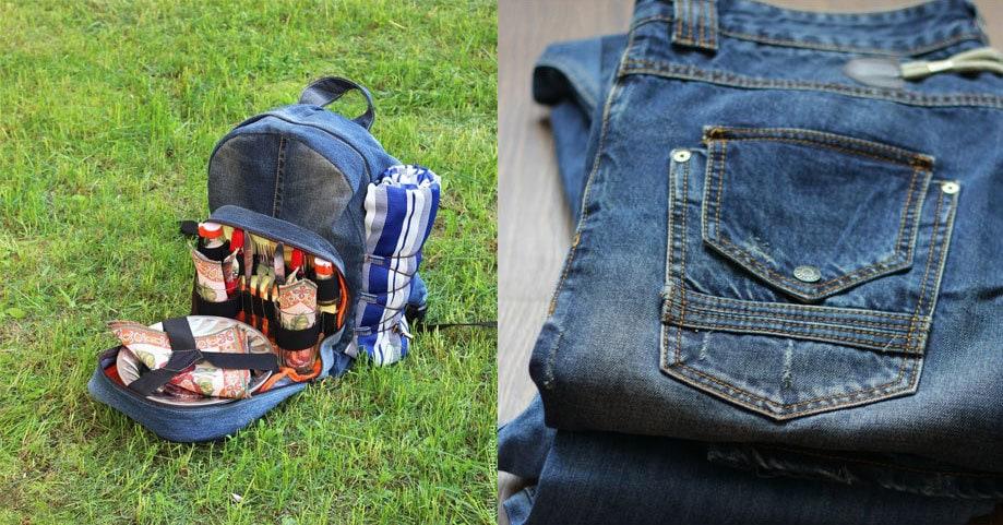 Рюкзаки джинсовые мужские своими руками 9
