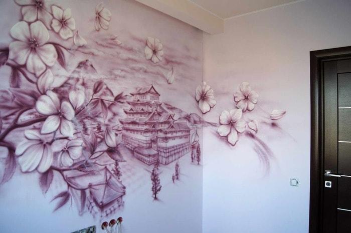 Оформление стен своими руками идеи