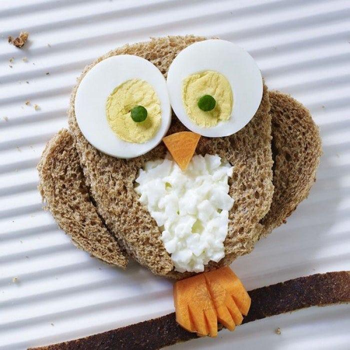 20 интересных бутербродов для детей - Своими руками