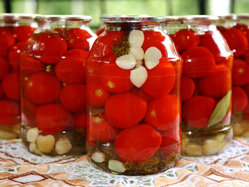 Консервирование помидор в домашних условиях рецепты 939