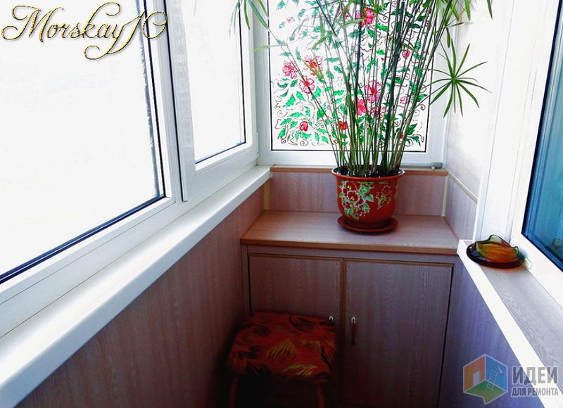 Обновленный балкон, на котором всегда весна!.