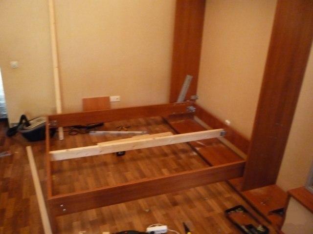 Шкаф-кровать трансформер своими руками фото