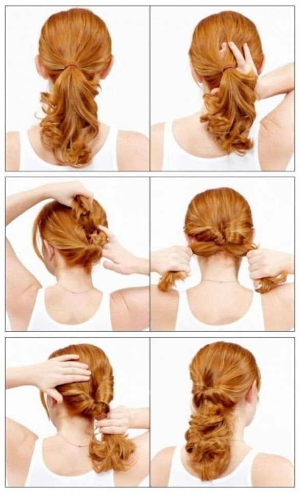 Сделать красивую прическу на длинные волосы
