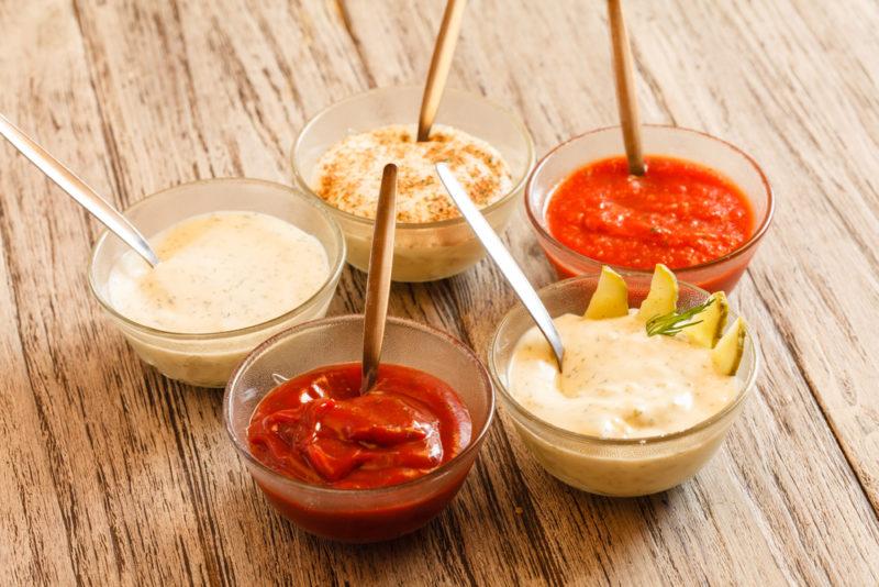 Как сделать соусы легкие