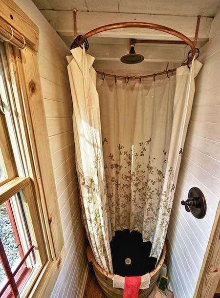 Душевая кабина на даче своими руками в доме 44