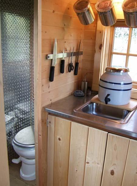 Идеи кухни на даче фото 120