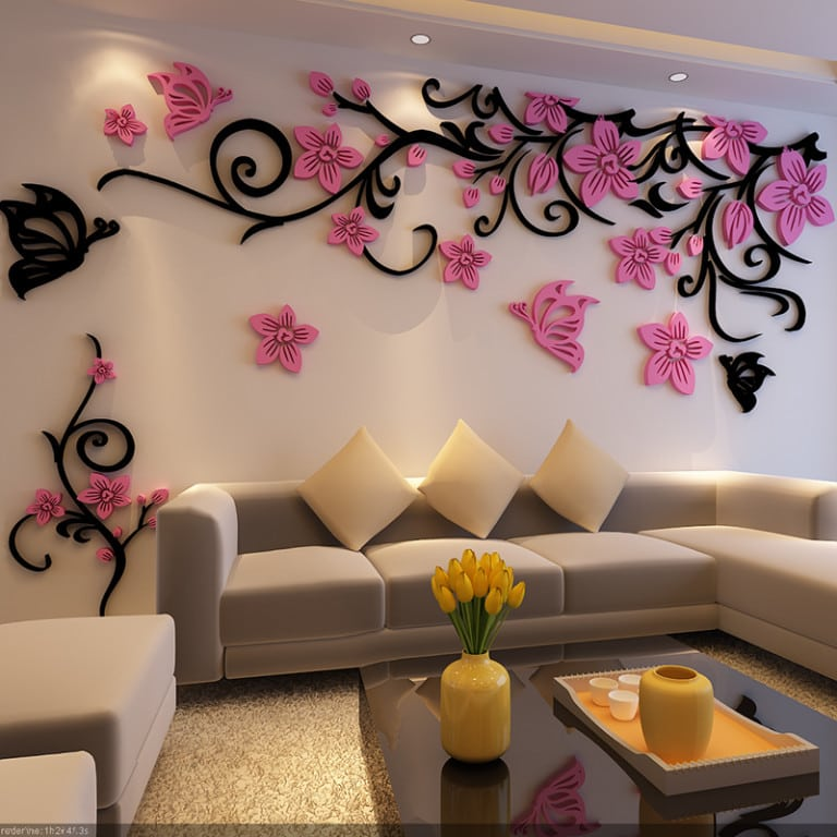 Как в квартире сделать стену красивой 672