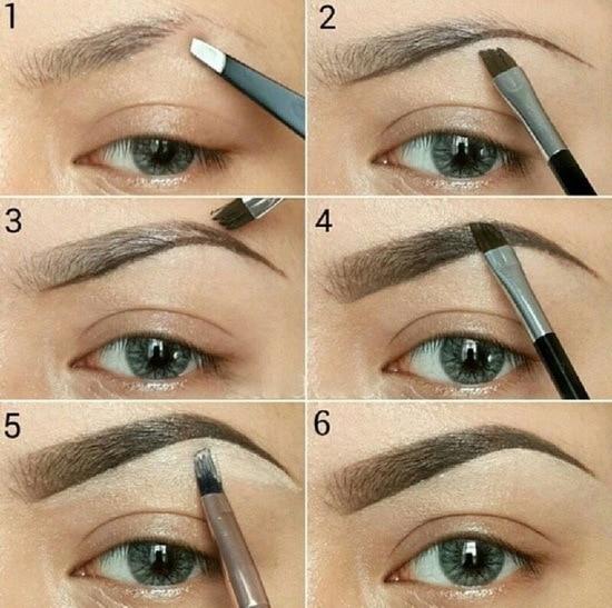 Как сделать брови ровными и красивыми
