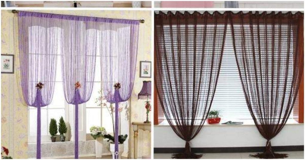 Как красиво повесить шторы своими руками 57