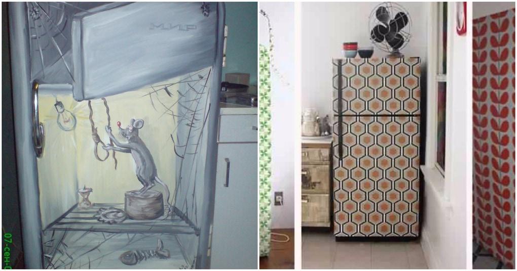 Интерьера холодильника своими руками